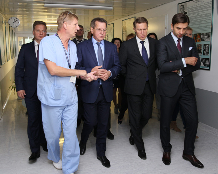 The Minister for the Open Government and the head of Federal Service on Surveillance in Healthcare and Social Development of Russian Federation evaluated the quality of medical care in the Federal Center